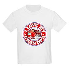I Love my Grandpa (Fire) T-Shirt