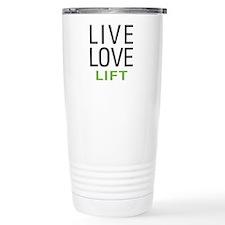 Live Love Lift Travel Mug