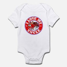 I Love my Uncle (Fire) Infant Bodysuit