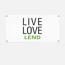 Live Love Lend Banner