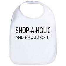 The Proud Shop-A-Holic Bib