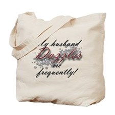 Dazzling Husband Tote Bag