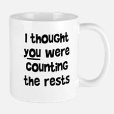 who's counting the rests? Mug