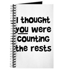 who's counting the rests? Journal