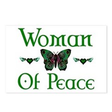 Woman Of Peace Postcards (Package of 8)