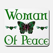Woman Of Peace Mousepad