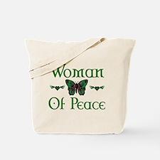 Woman Of Peace Tote Bag