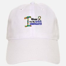I Wear Puzzle Ribbon 21 (Granddaughter) Baseball Baseball Cap