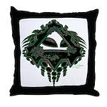 Cropcircle Throw Pillow