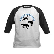 Rescue Dogs Rule Shadow Dogs Tee