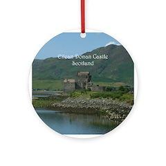 Eilean Donan Castle Scotland Ornament (Round)