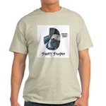 PARTY POOPER PUG Ash Grey T-Shirt