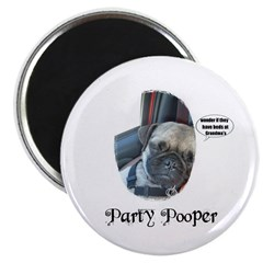 PARTY POOPER PUG 2.25