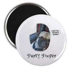 PARTY POOPER PUG 2.25