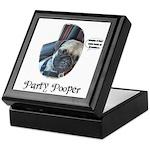 PARTY POOPER PUG Keepsake Box