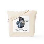 PARTY POOPER PUG Tote Bag