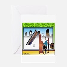 Musical Difference of Opinion Greeting Card