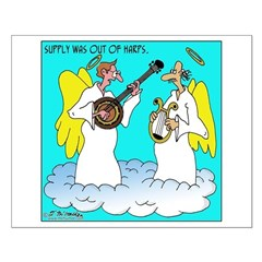 Supply out of Harps, but not Banjos Posters