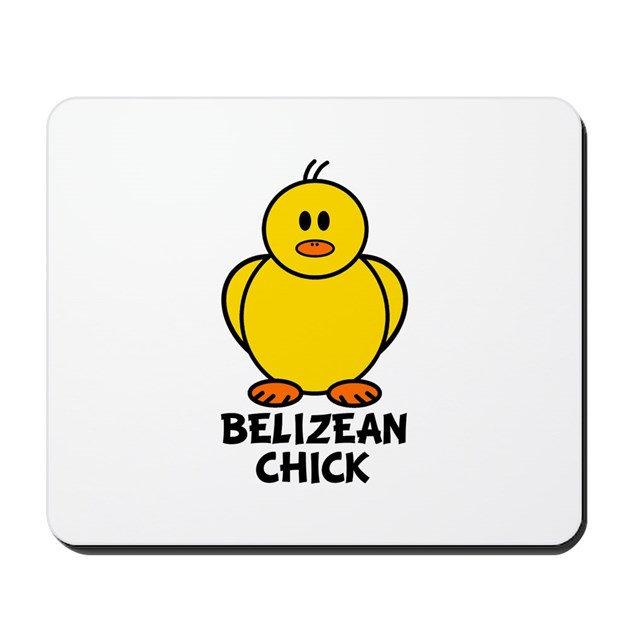 Belizean chick mousepad by citystateworld for Belizean style house plans