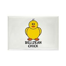 Belizean Chick Rectangle Magnet