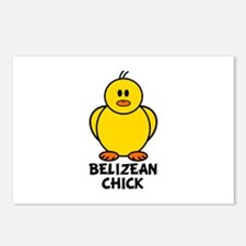 Belizean Chick Postcards (Package of 8)