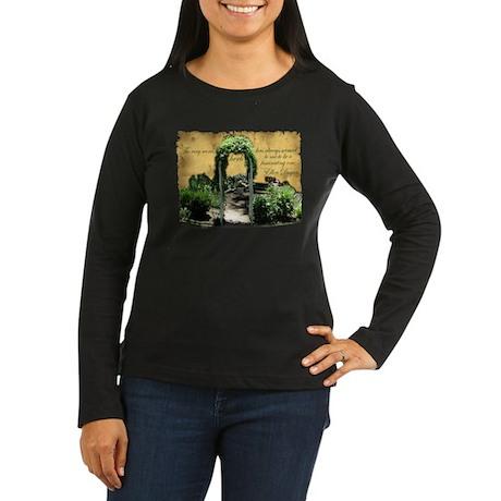 Herb Garden Women's Long Sleeve Dark T-Shirt
