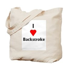 I Love Backstroke Tote Bag