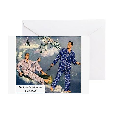 Yule Log Greeting Cards (Pk of 10)