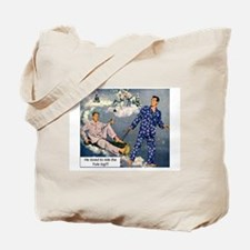 Yule Log Tote Bag