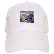 Yule Log Baseball Cap