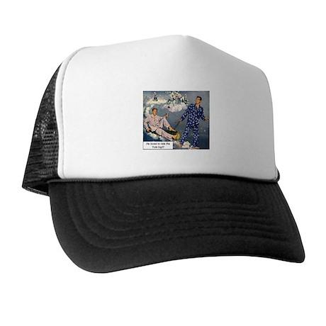 Yule Log Trucker Hat
