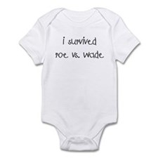 I SURVIVED ROE VS. WADE Infant Bodysuit