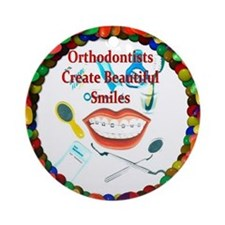 Orthodontists Ornament (Round)