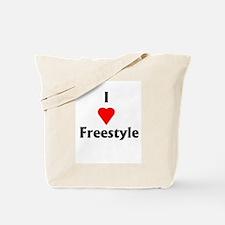 I Love Freestyle Tote Bag