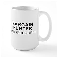 Proud Bargain Hunter Mug(left side)