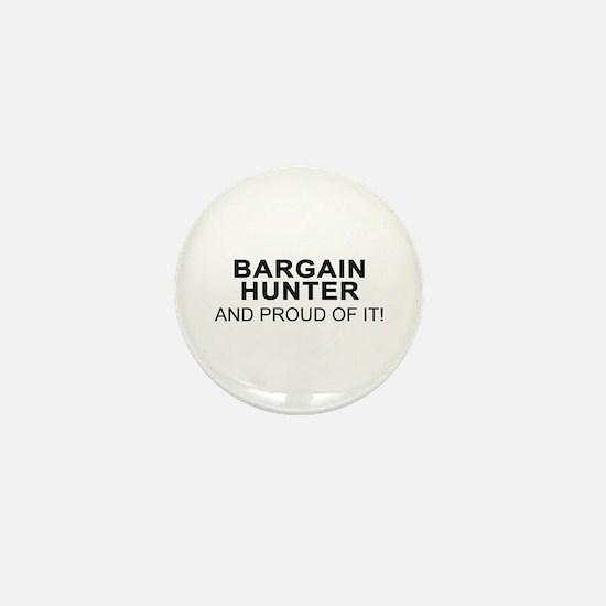 Proud Bargain Hunter Mini Button