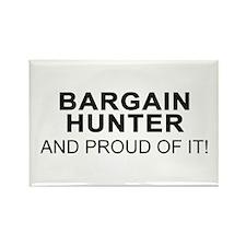Proud Bargain Hunter Rectangle Magnet