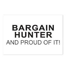 Proud Bargain Hunter Postcards (Package of 8)
