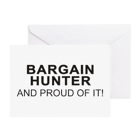 Proud Bargain Hunter Greeting Card
