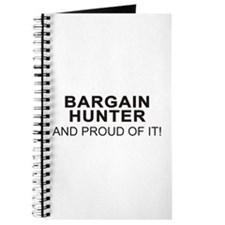 Proud Bargain Hunter Journal