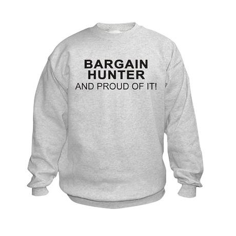 Proud Bargain Hunter Kids Sweatshirt