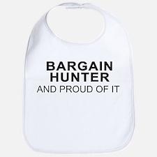 Proud Bargain Hunter Bib
