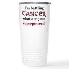 I'm battling Cancer Ceramic Travel Mug
