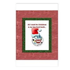 Dental Holidays Postcards (Package of 8)