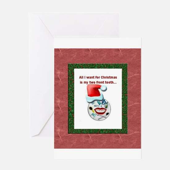 Dental Holidays Greeting Card