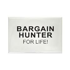 Bargain Hunter For Life Rectangle Magnet