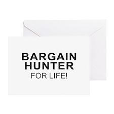 Bargain Hunter For Life Greeting Card