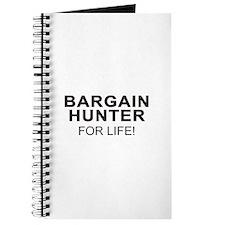Bargain Hunter For Life Journal