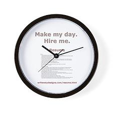 writewaydesigns.com/resume.html Wall Clock