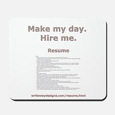 writewaydesigns.com/resume.html Mousepad